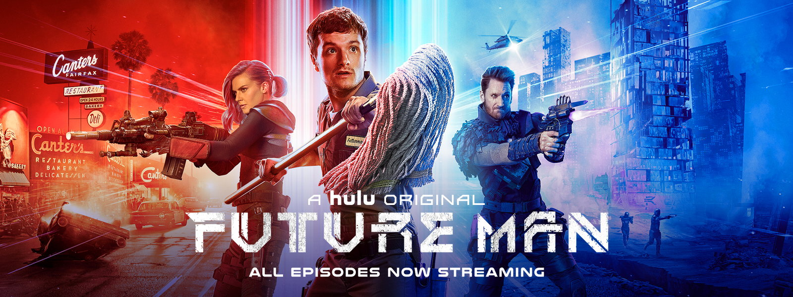 "Seth Rogan's ""FUTURE MAN"" features Park Drive song on new"